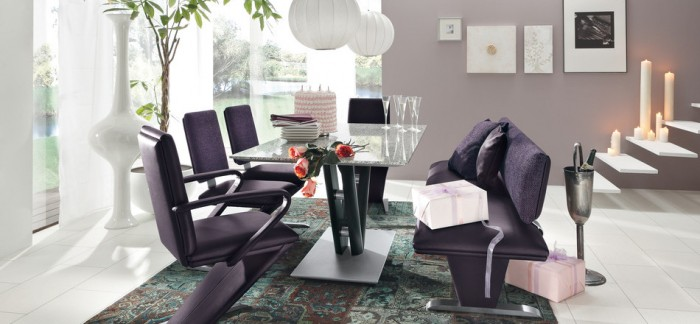 Contemporary Glass Dining Tables