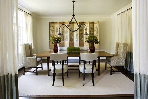 Ideas for formal dining room furniture formal dining room for Formal dining table centerpiece