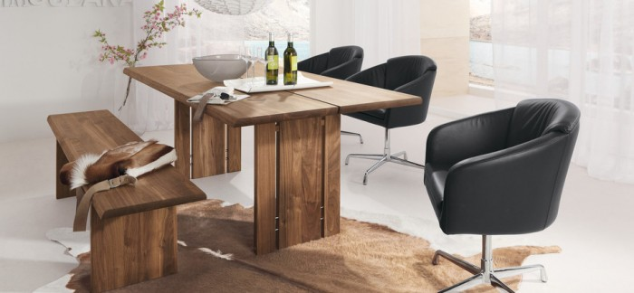 Solid Wood Contempary Dinning Room Furinture