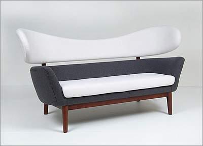 Mid Century Reproduction Sofa