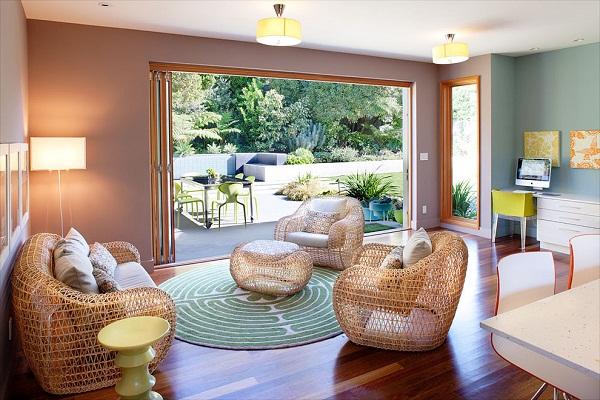 Outdoor Wicker Furniture Indoors