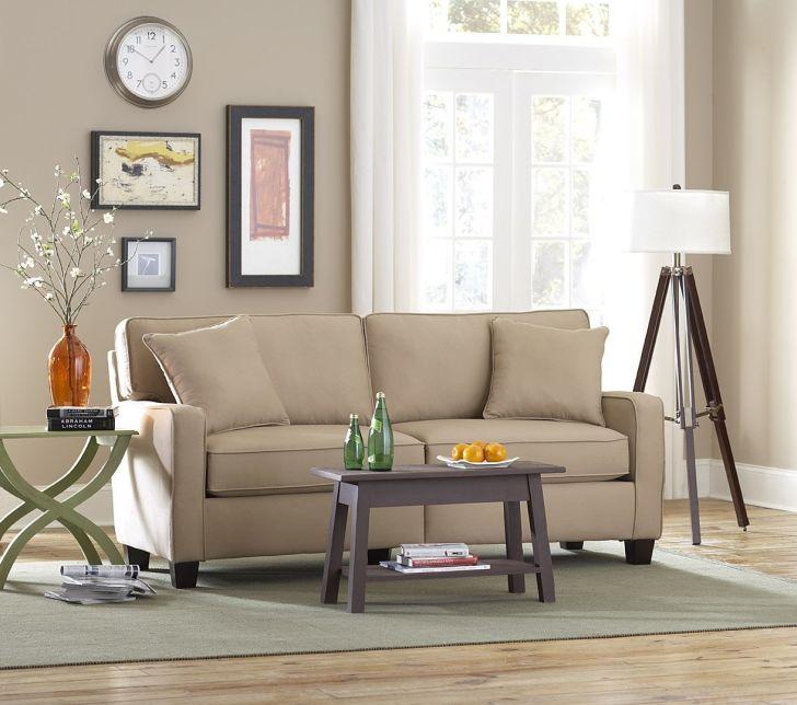 Apartment Size Sofa Using Cream Velvet Sofa Couch