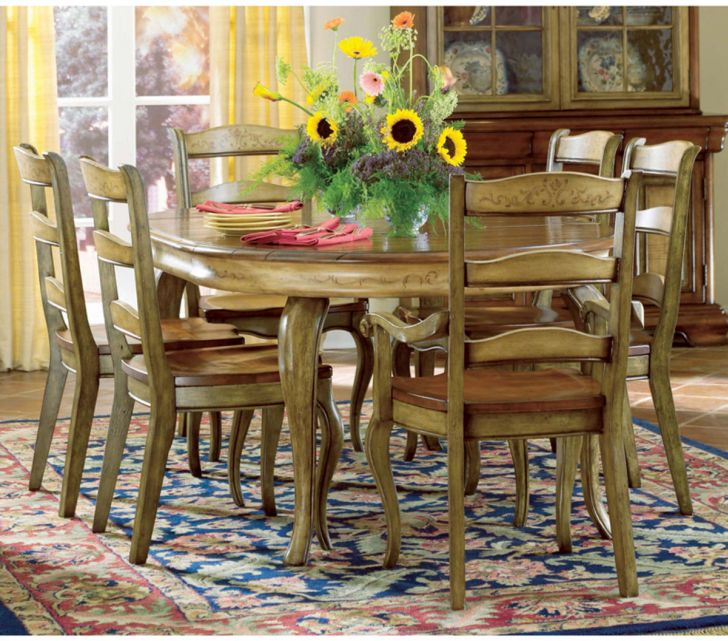 French Country Dining Set Decor