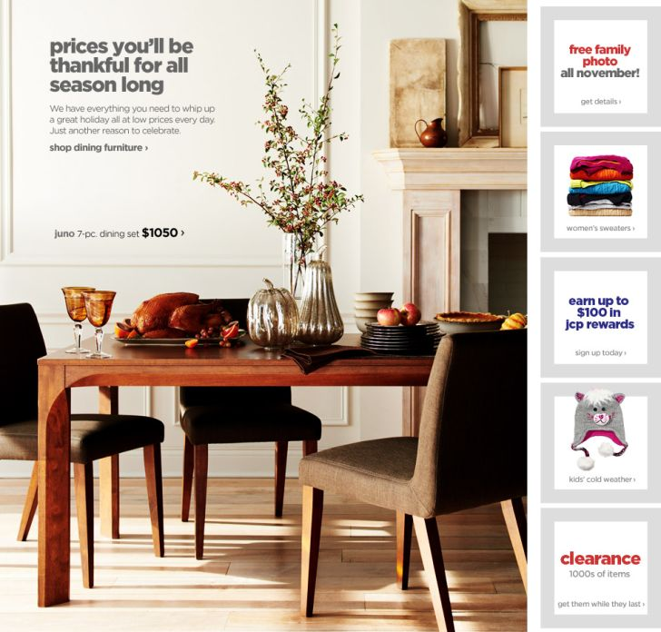 Memorial Day Furniture Sales JC Penney