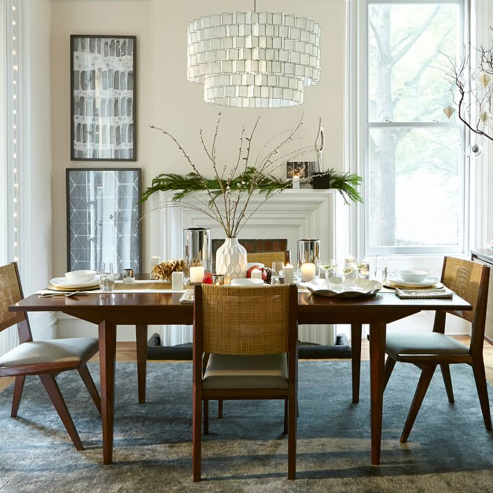 long slender dining table for tiny