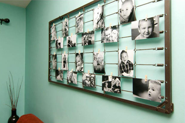 Creative Ways To Hang Pictures Without Frames Homes