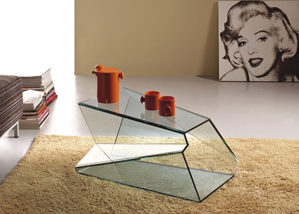 Glass Coffee Tables From Tunelli