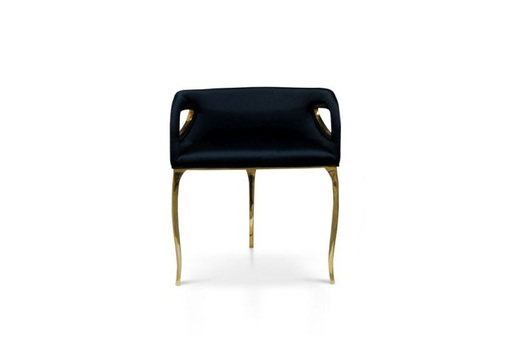 Modern Black Chandra Chair