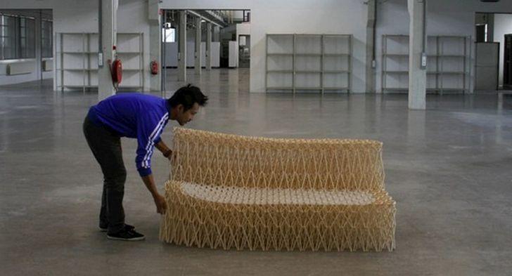Retractable Sofa XXX by Yuya Ushida