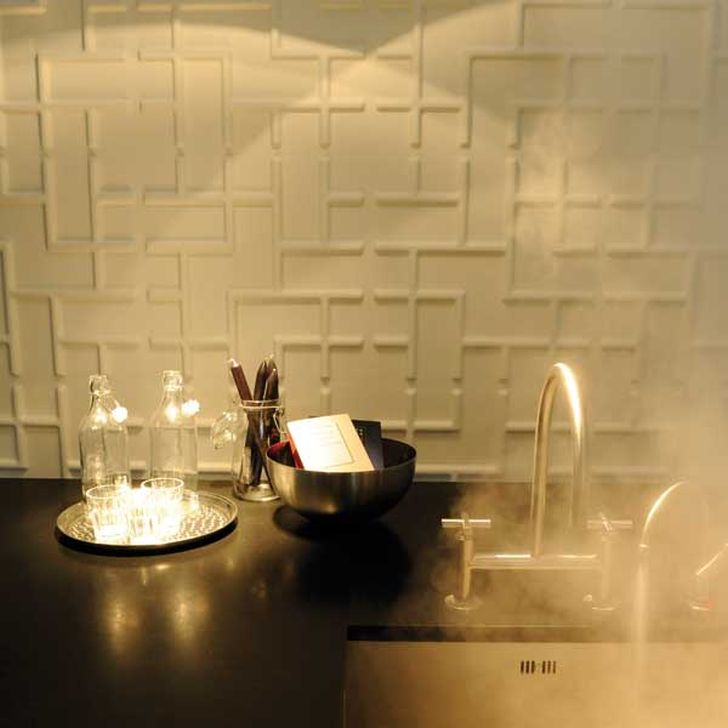 3d Decorative Wall Panels 3d Tetris Wall Panels in the Bathroom