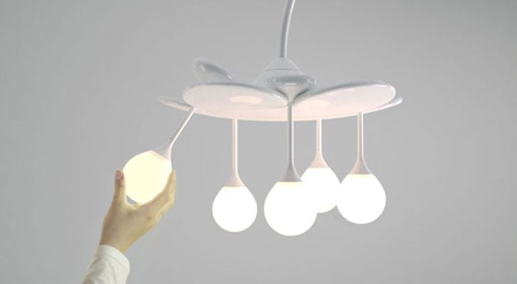 The Drop Light Elegant Drop Light as Pendant Lamps