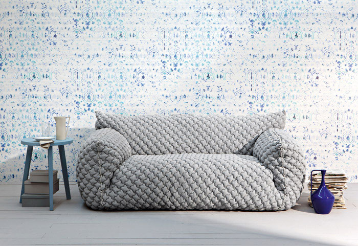 NUVOLA Fluffy Upholstered