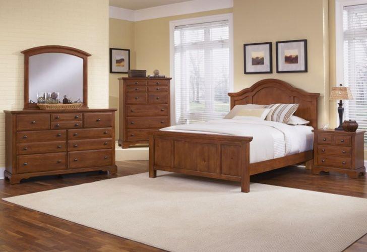 Antique Pinewood Bedroom Furniture Sets