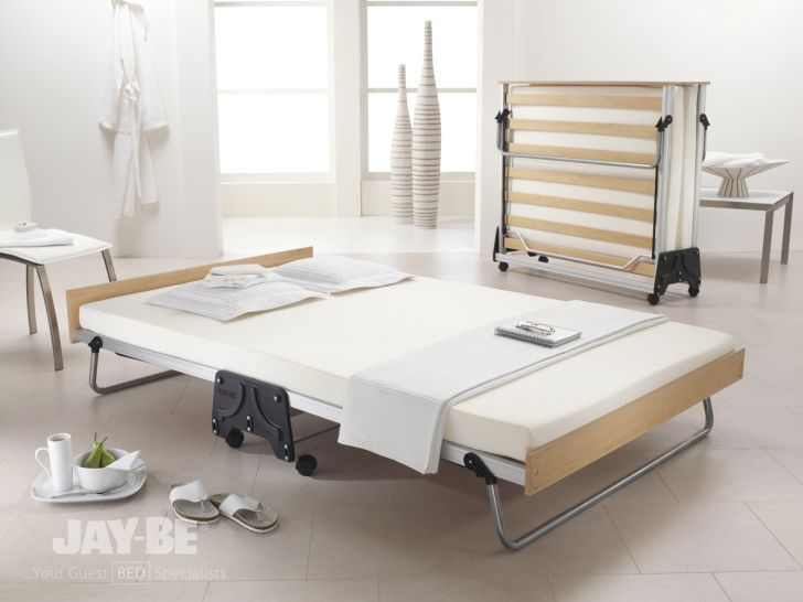 Decorate Small Bedroom J Bed Memory Foam Folding Double Guest Bed for Small Bedroom