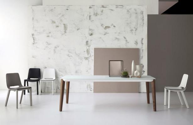 Bonaldo Table Concept Match Table Design by mauro Lipparini