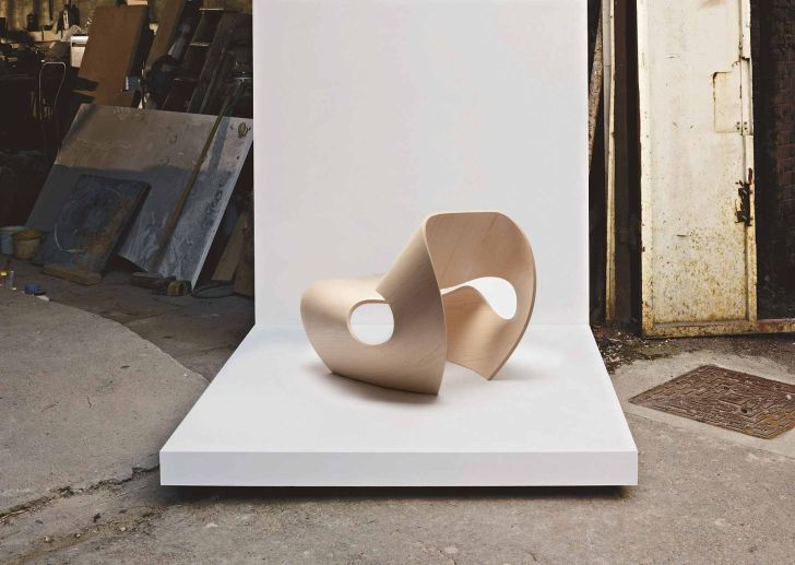 The Cowrie Chair Plywood Faced Cowrie Chair Design Project
