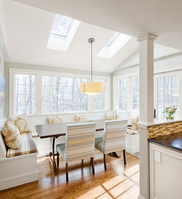 Breakfast Nook furniture natural-light-white-kitchen-design-with-fancy-breakfast-nook