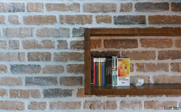 attic-apartment-with-custom-furniture-simple-wood-bookcase
