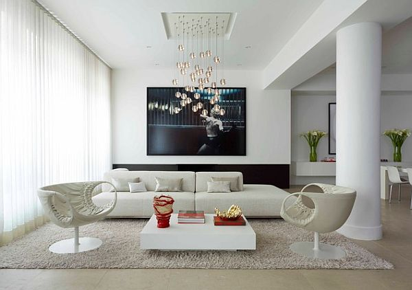 how to choose coffee table white-wooden-coffee-table-in-minimalist-white-living-room-and-white-rug
