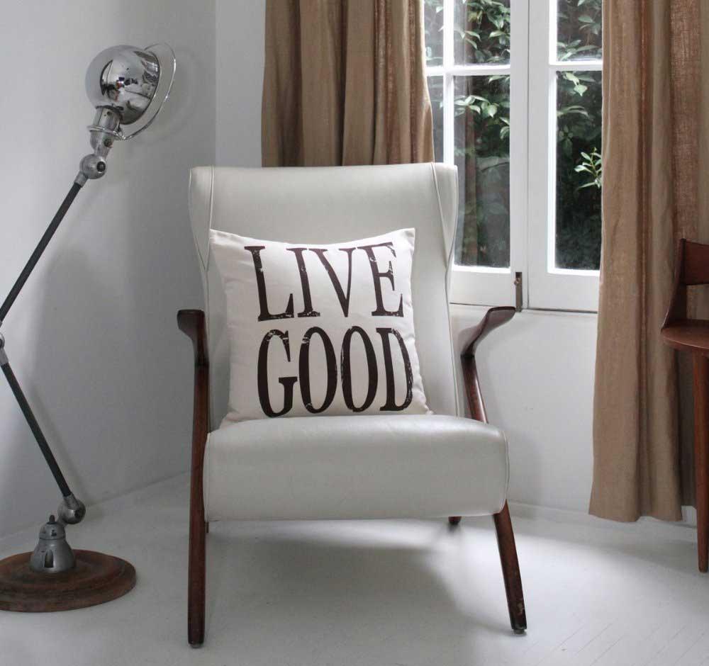 Organic Bedding Options-Live-Good-Organic-Cushion-on-Chair