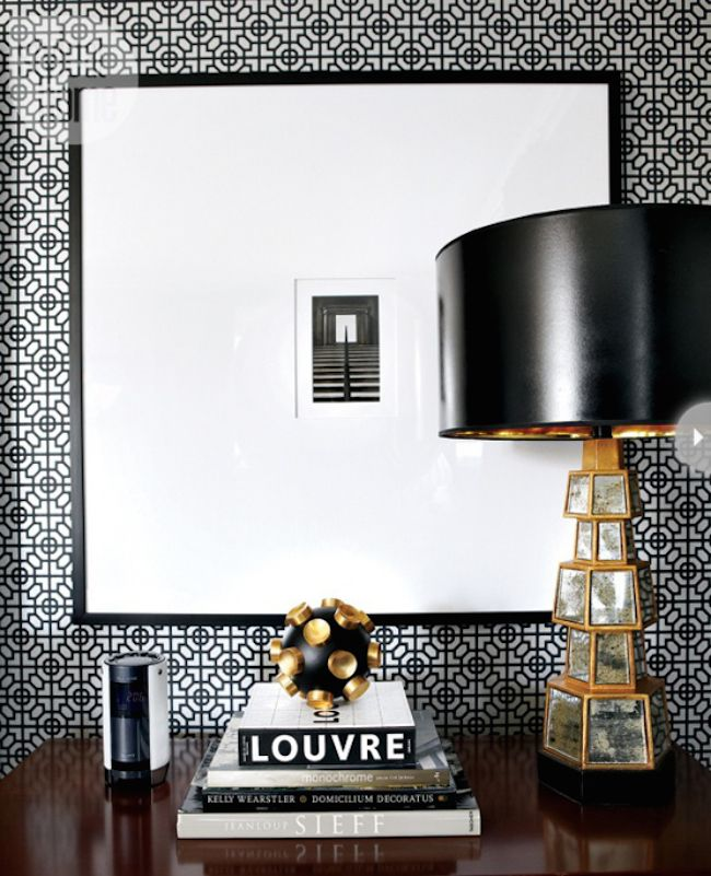 bedside-nightstands-decoration-ideas-Modern Nightstand Decor Object