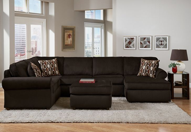 3 Piece Sectional Monarch Value City Furniture
