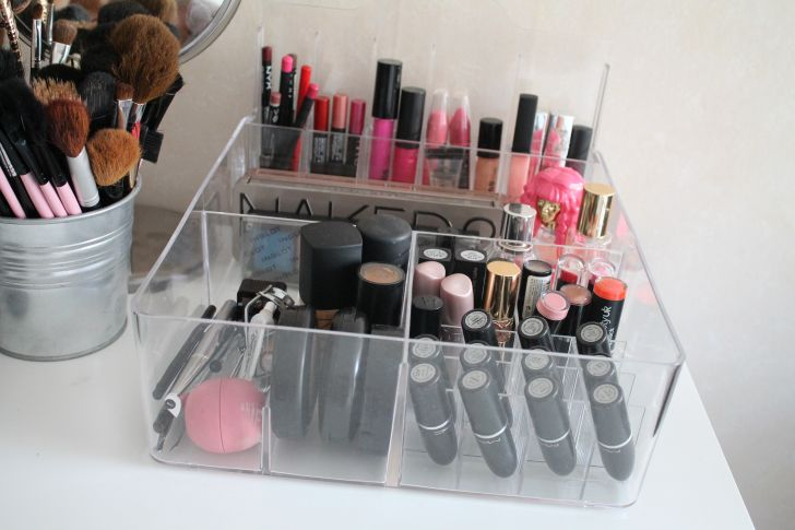 Transparent Acrylic IKEA Makeup Organizer