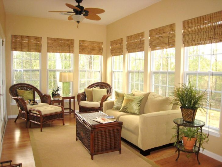 Bamboo Roman Shades With Privacy Liner With Window Dressing Designs