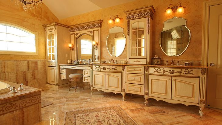 Vanity Fair Bath with Vintage Bathroom Vanity Collection