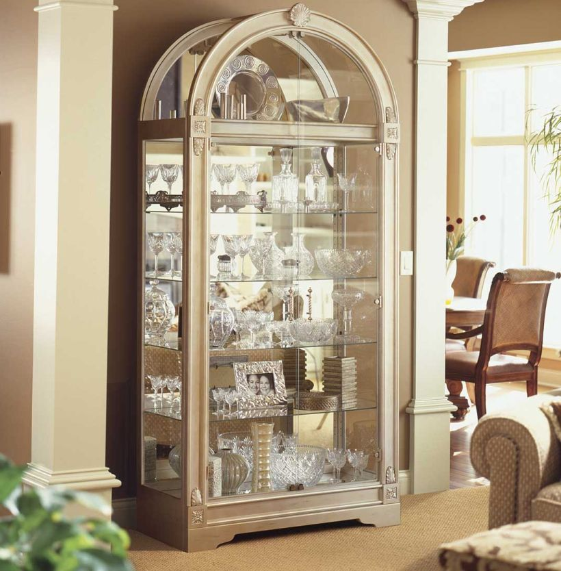 Contemporary Lighted Corner Glass Curio Display Cabinets for Dining Room Corner Curio Cabinet Ikea