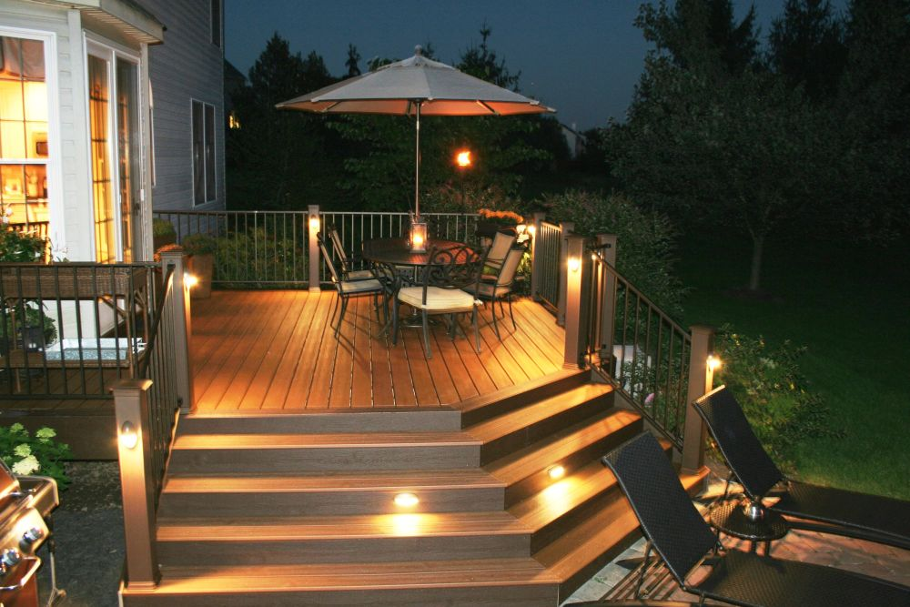 charm coach lighting idea in the porch beneath the umbrella and suitable for garden and even pool