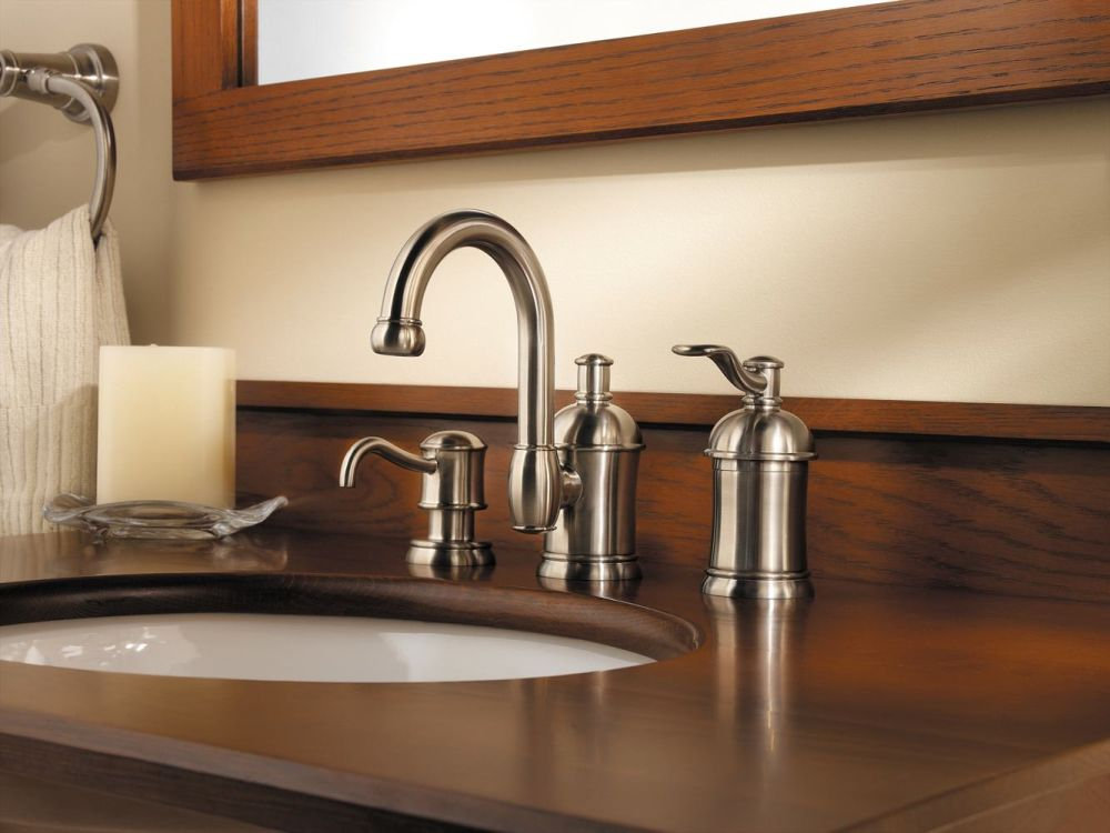classic design price pfister bathtub faucet removal with gold color and wooden countertops