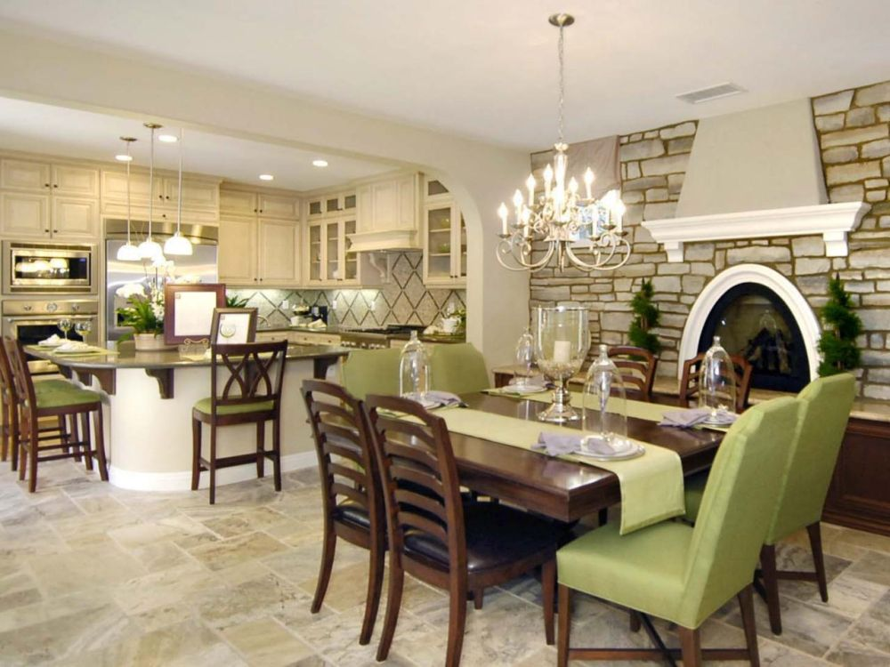 decorative dining room sets with mahogany furniture and artistic chandelier lighting