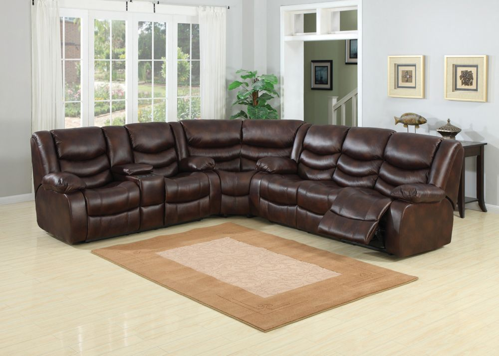 spacious grey living room design with reclining faux leather upholstery and adjustable seat cushion