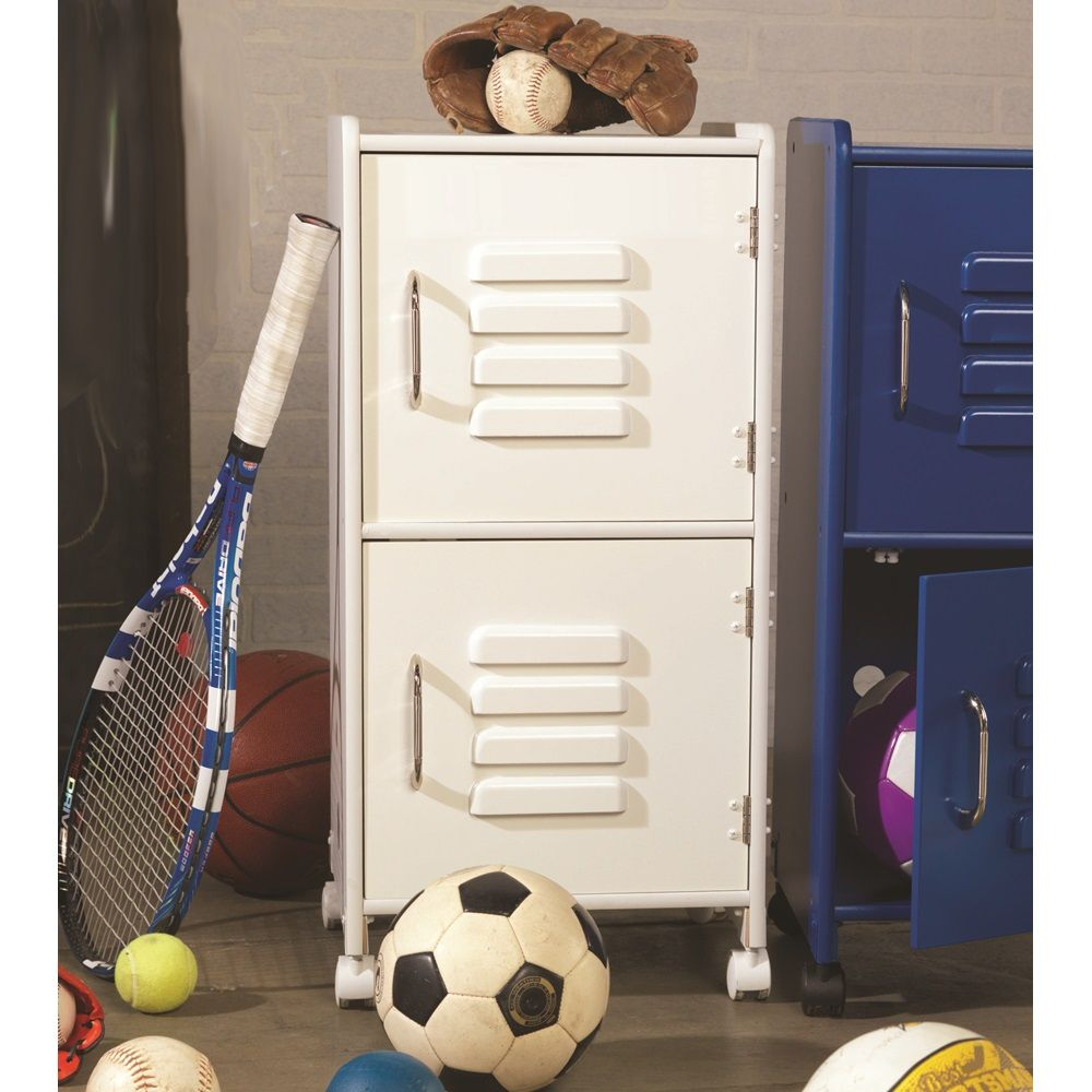 stunning bedroom furniture with pro-style lockers and drawers to store some sports equipment