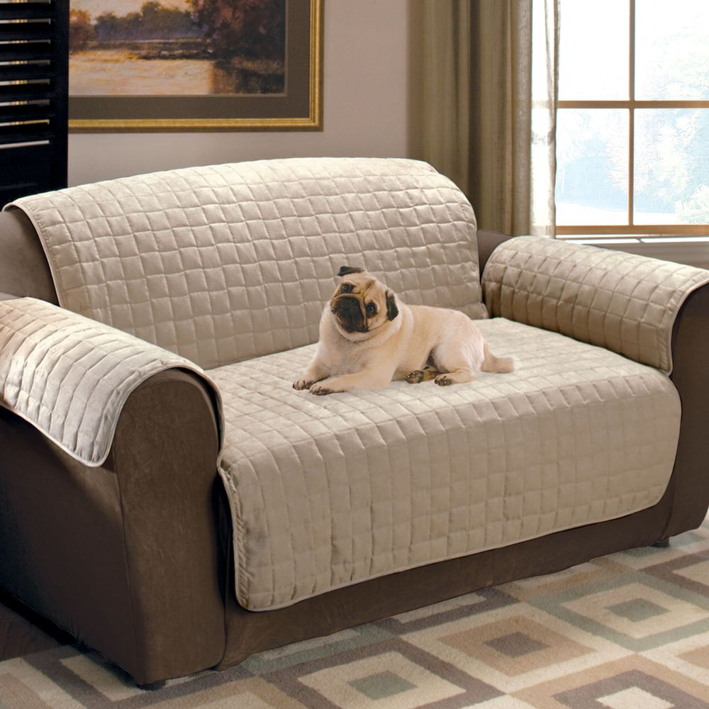white dog sofa covers waterproof to protect from scratch and dust