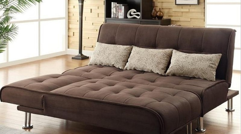 tufted sleeper sofa and dark brown tufted upholstery with multi-function furniture design extraordinary sleeper sofas for small spaces