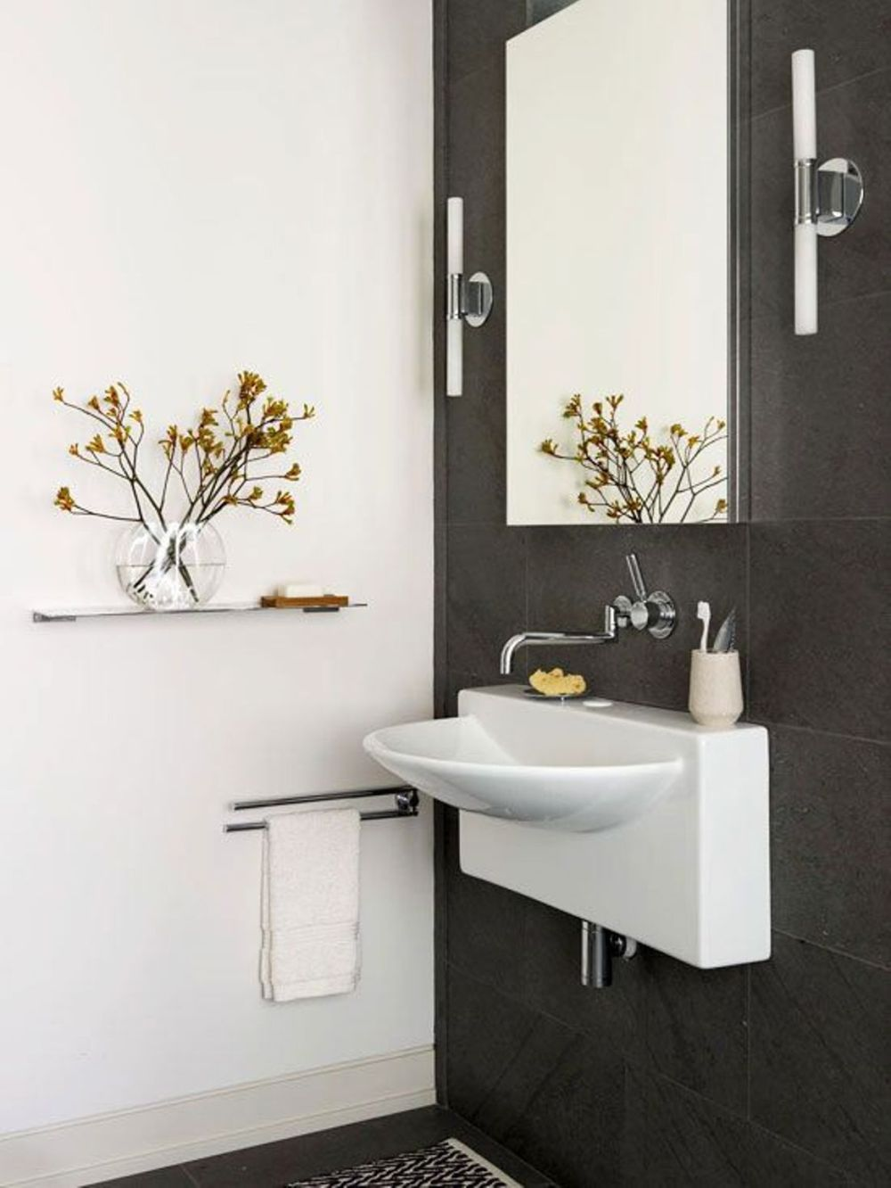 wall mount sinks for small bathrooms ideas with wall mounted mirror amazing sink design for small bathroom