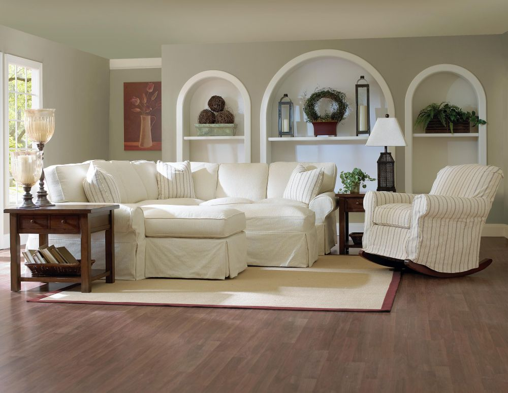white slipcovered sofa with patterned cushions for living room slip covered sofas - offers design for easy to clean style