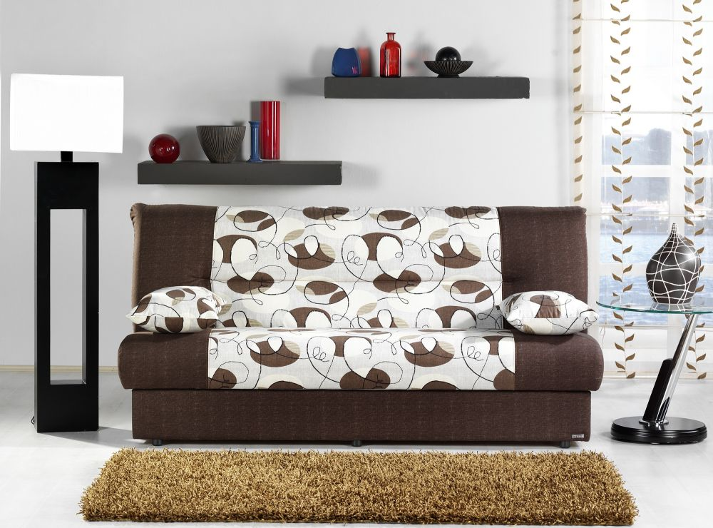 comfortable regata sofa bed in ceres cream finish with 2 pillows sofa beds nyc to make your days even more enjoyable