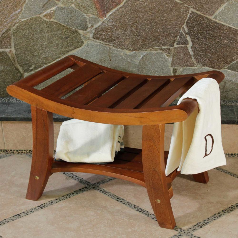 decoteak harmony teak asia shower bench remarkable teak bathroom furniture