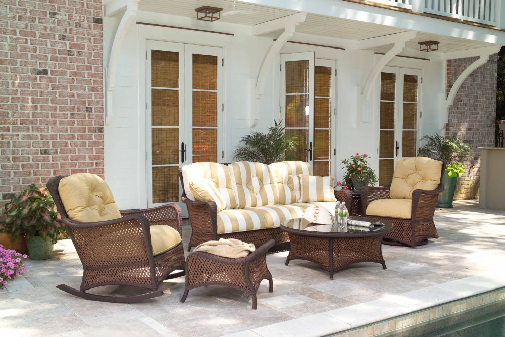 farmhouse backyard decor with black rattan alfresco sets sure with southern home furniture for a decent living in usa