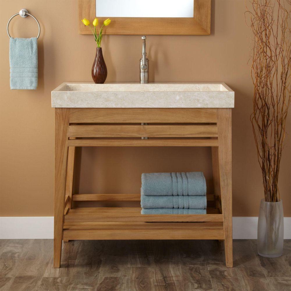 Teak bathroom cabinet - Impressive Teak Bathroom Household 100 Bathroom Vanities