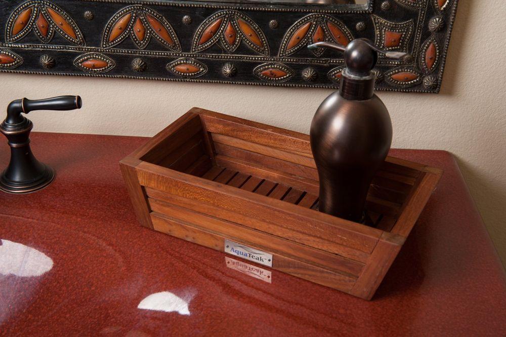 teak amenities tray remarkable teak bathroom furniture