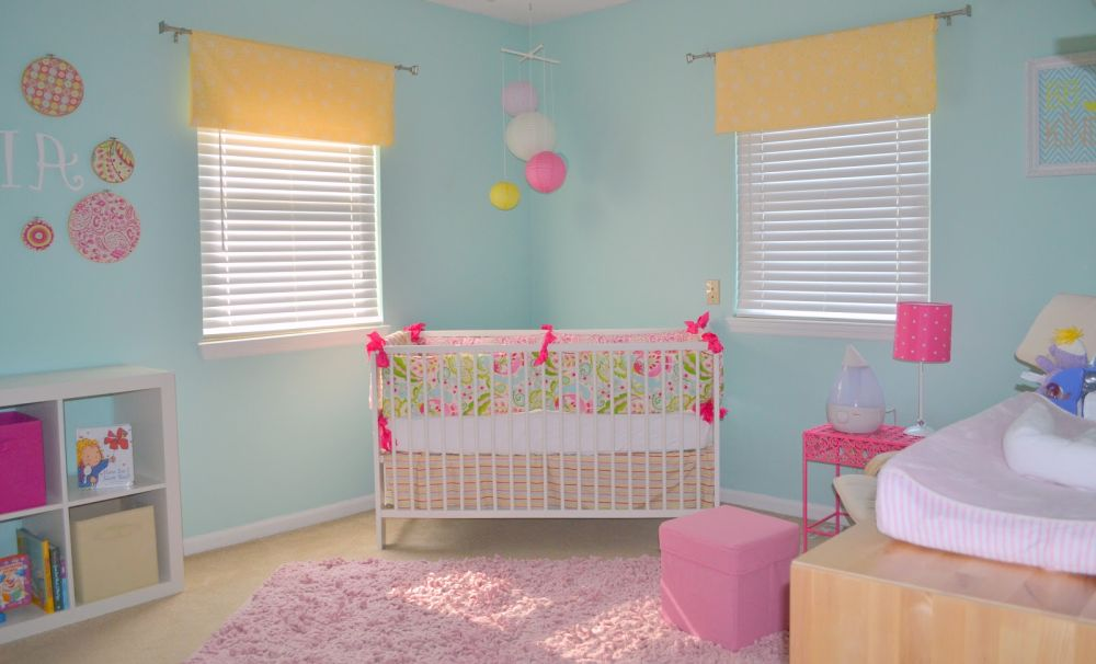 baby nursery with washable light blue wall color captivating washable wall paint ideas for kids and interior space