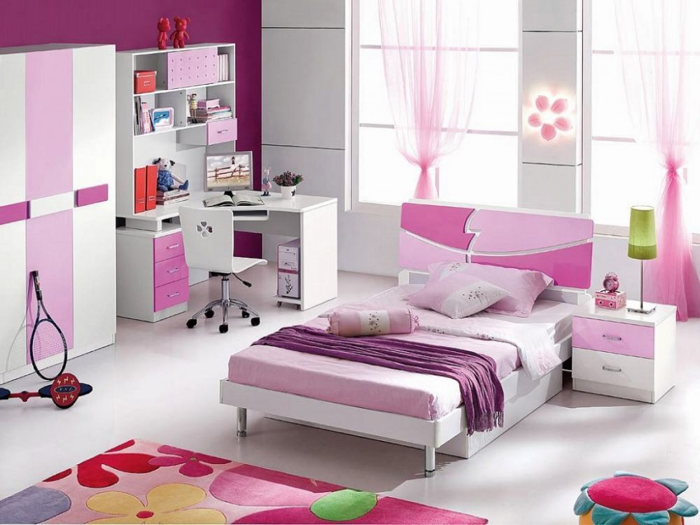 girl toddler bedroom furniture sets with purple furniture like desk and bedside toddler bedroom furniture sets – how to choose the safe one