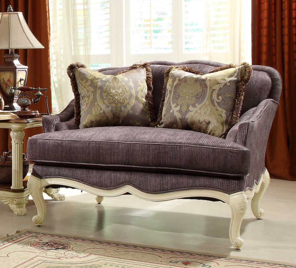 luxury vintage twin sofa in purple color with patterned cushions and white wooden legs owning small living room décor with versatile sense from the appealing twin sleeper sofa chair