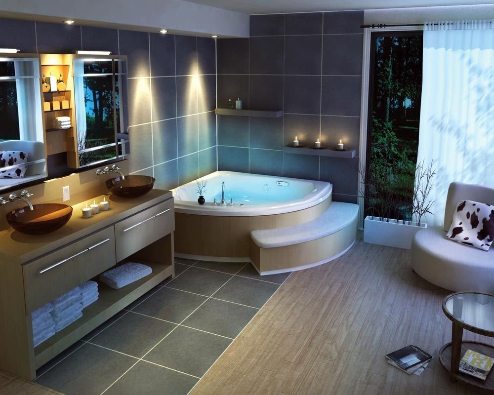 modern bathroom design with dimmed ceiling lightings and some candles near the bathtub extraordinary and unique bathroom lighting