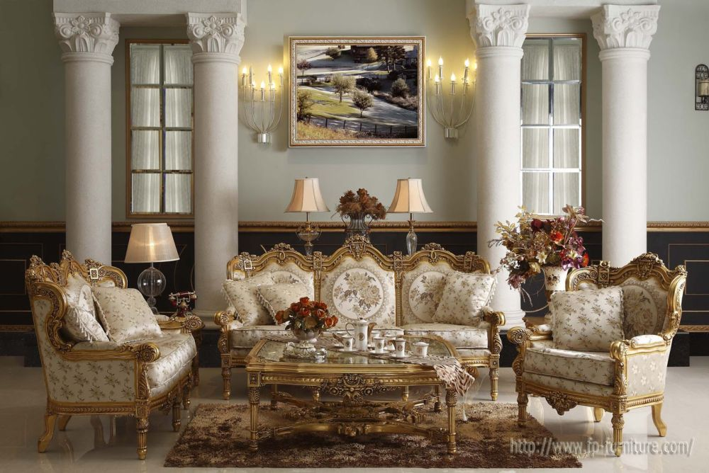 deluxe traditional french sofa sets with the great carved light brown wooden frame feeling the tranquil of life in the fascinating french country sofa