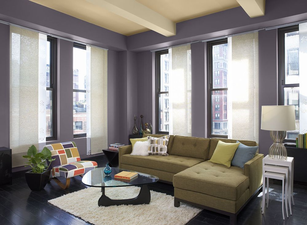 elegant grey living room paint ideas with double hung windows and white shade what color to paint living room for the extraordinary interior appearance